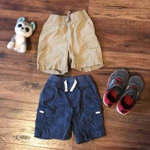 2 pairs 2T boys shorts